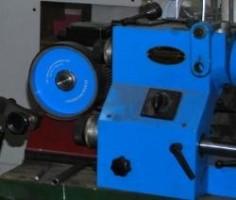 niebieska maszyna Socha